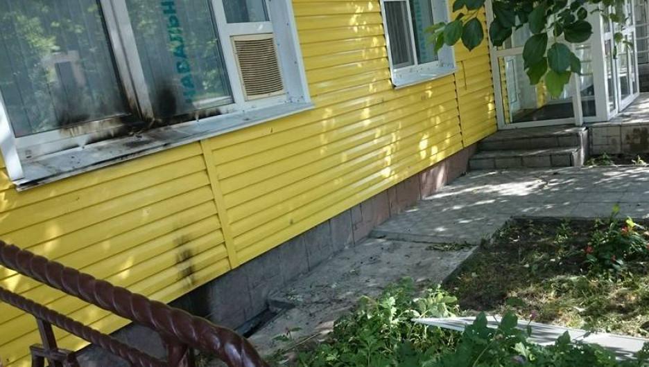 В Барнауле пытались поджечь офис Навального.