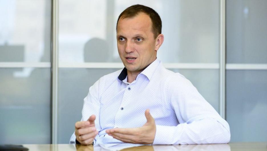 """Валерий Казаченко, директор Алтайского филиала """"МегаФона""""."""