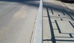 Уборочная техника и пыль на улицах Барнаула.