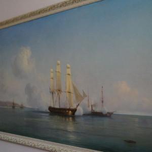 Выставка к 200-летию Ивана Айвазовского в Художественном музее Алтайского края.