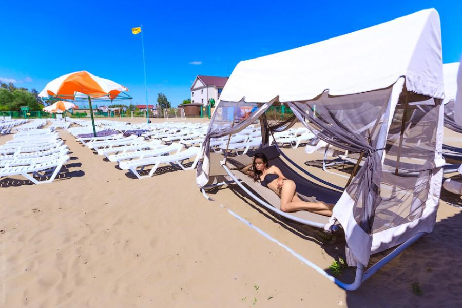 """Пляж """"Солнечный""""."""