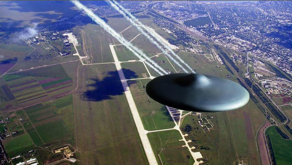 НЛО над аэродромом