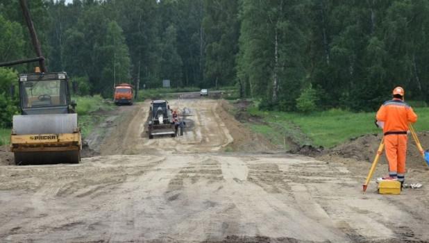 Строительство дорог в Бийском районе