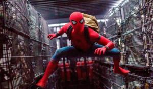 """Кадр из фильма """"Человек-паук: Возвращение домой""""."""