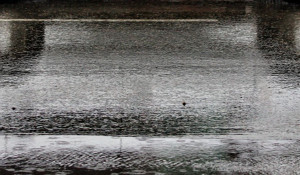 Дождь в Барнауле.