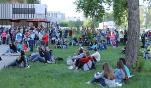 Фестиваль короткометражного кино в парке Смертина 12 июня 2017 года.