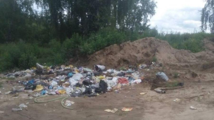 Глава Сибирского сельсовета проинспектировал свалки около садоводств