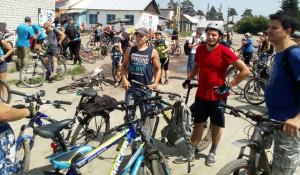 Барнаульцы совершили массовую велопрогулку
