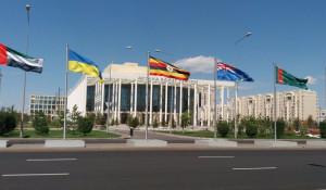 Театр балета. Астана, Казахстан.