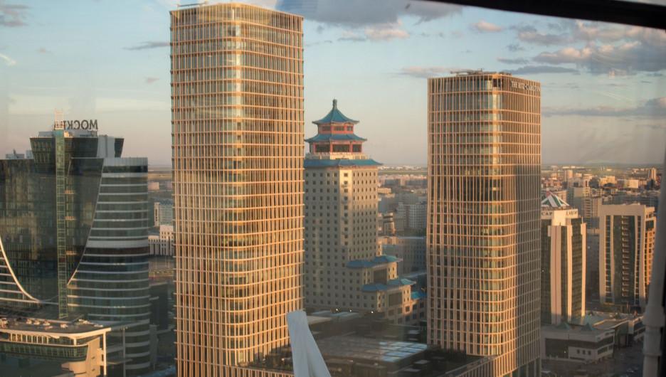 Отель Ritz-Carlton. Астана
