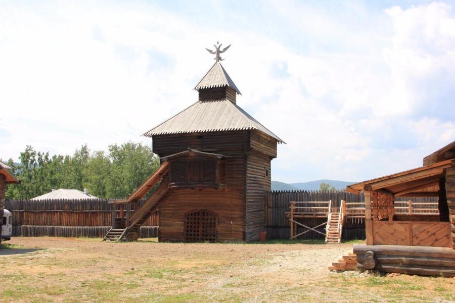 Смотровая башня острога в Тальцах.