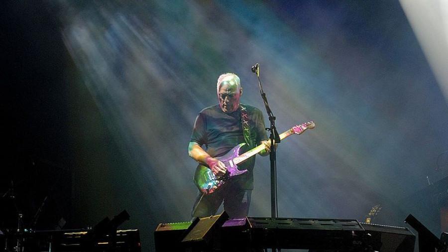Дэвид Гилмор, лидер Pink Floyd.