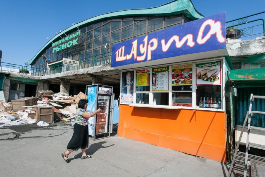 Старый базар в Барнауле, 17 июля 2017.