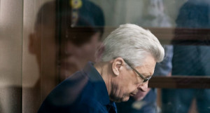 Юрий Денисов во время оглашения приговора.