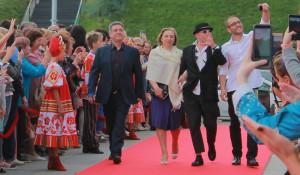 Гости Шукшинского кинофестиваля-2017 на красной дорожке.