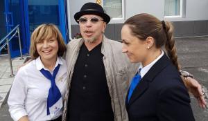 Гарик Сукачев прилетел в Барнаул на Шукшимнский фестиваль.