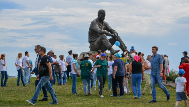 """""""Шукшинские дни на Алтае"""" в Сростках."""