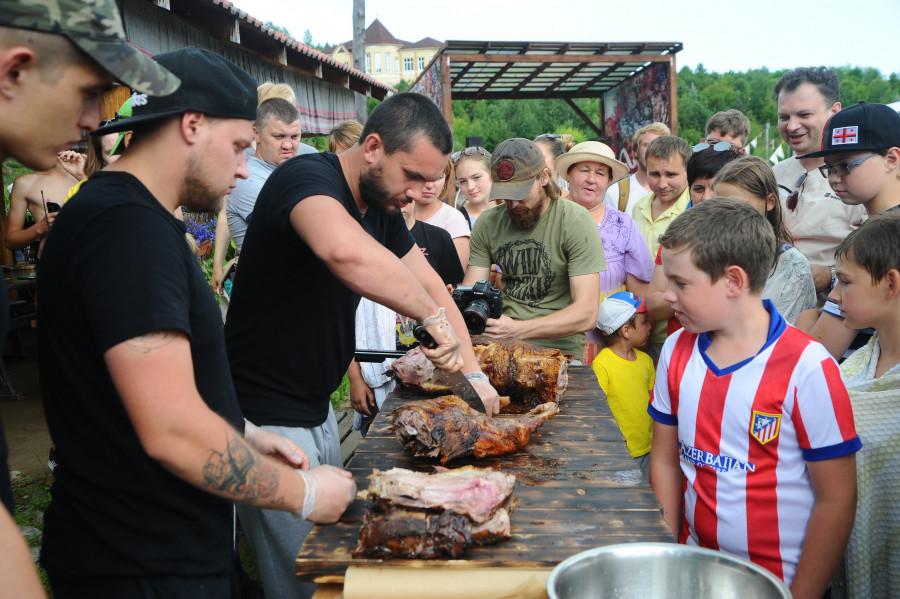 """В """"Алтайском холмогорье"""" впервые прошел гастрономический фестиваль"""
