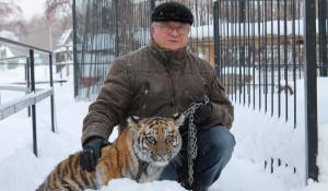Директор барнаульского зоопарка Сергей Писарев.