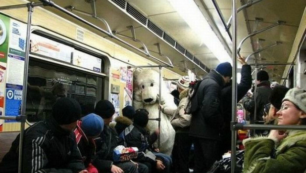 Случаи в метро