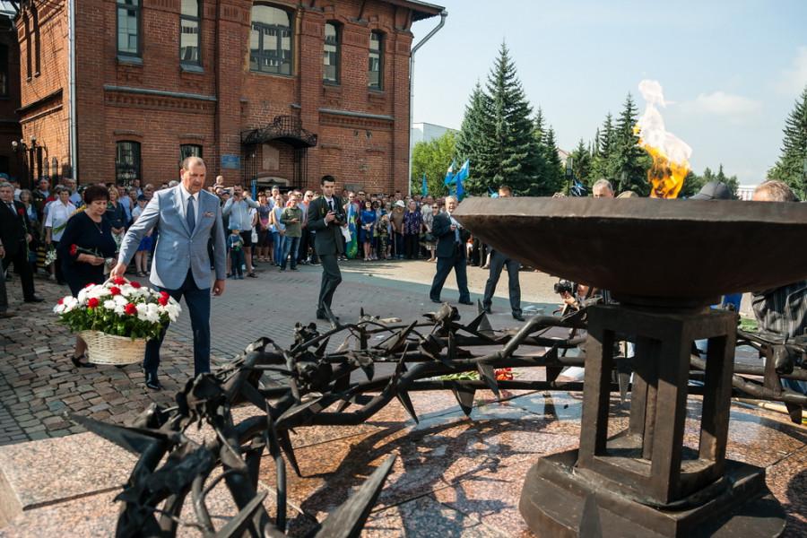 День десантника в Барнауле. 2 августа 2017 года.