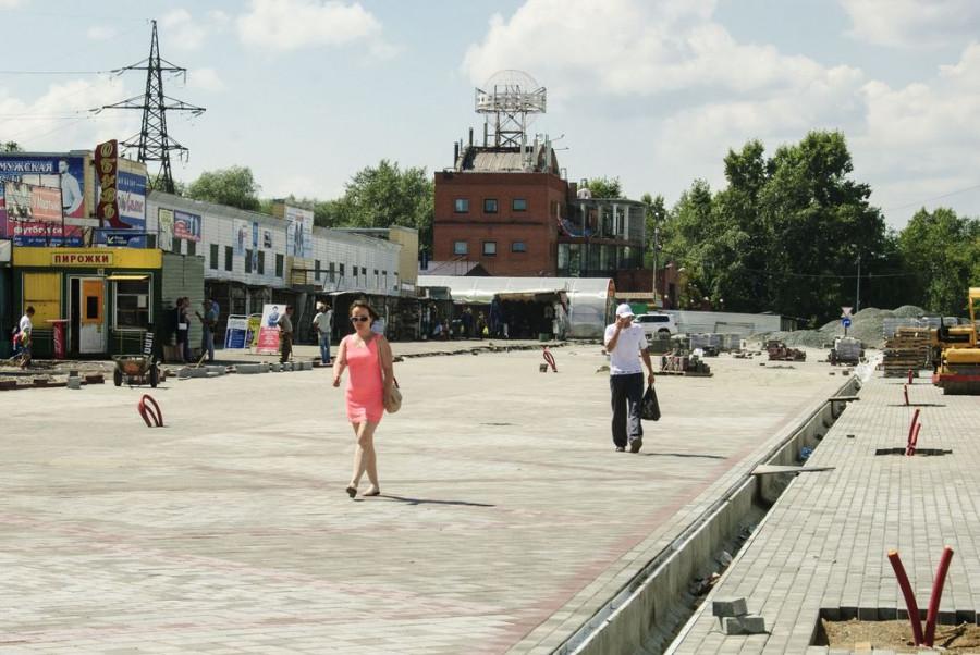 Реконструкция улицы Мало-Тобольской. 3 августа 2017 года.