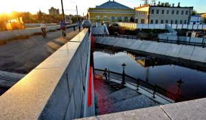 Барнаул. Туристический кластер. Мост на проспекте Ленина.