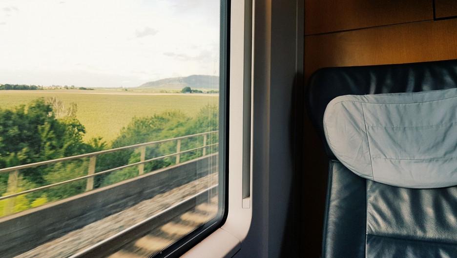 Поезд. Европа.