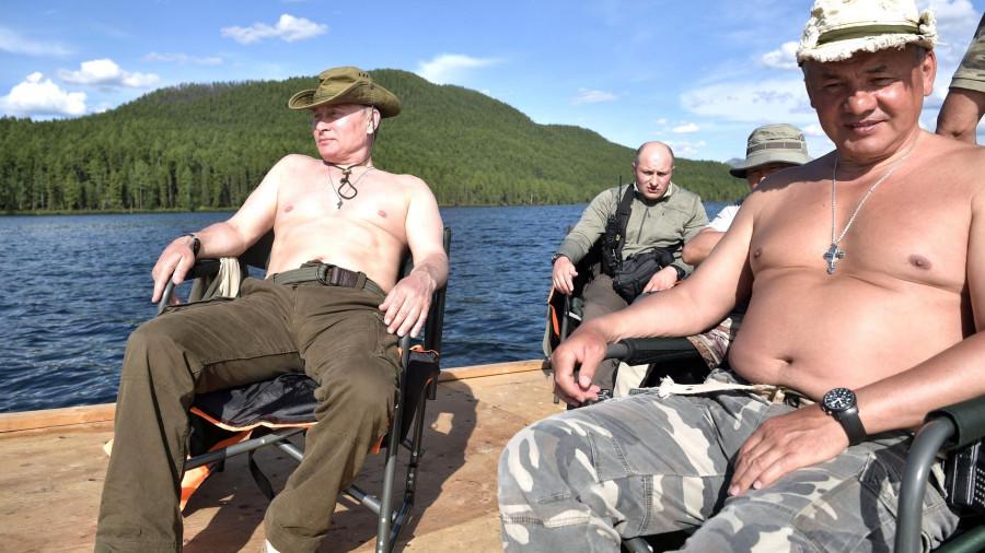 Сибирские каникулы Владимира Путина. Тува, 1-3 августа 2017 года.
