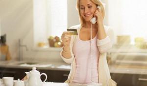 Банковские услуги по телефону.