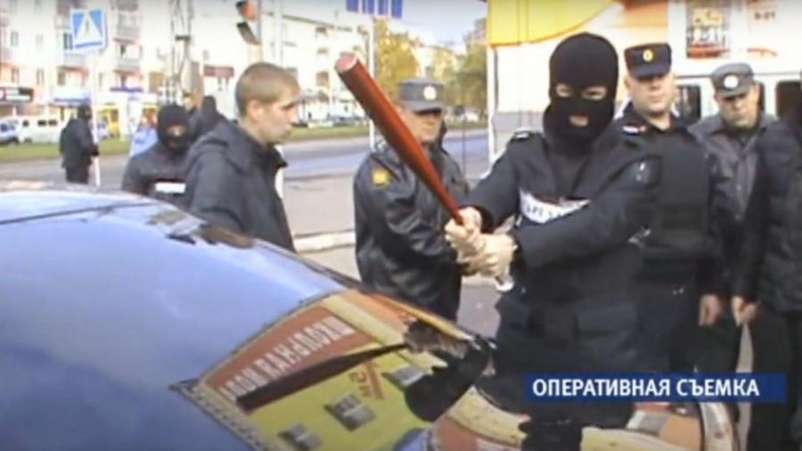 Оперативная съемка по делу банды Мамуки Гальского.