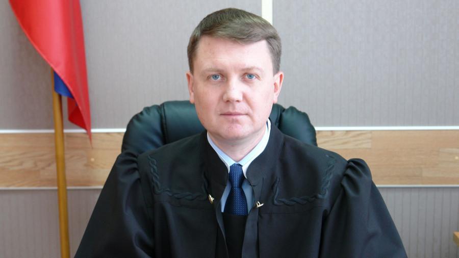 Судья Алексей Карлин.
