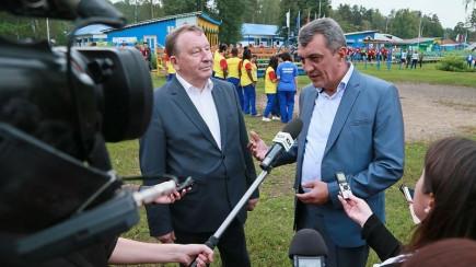 Александр Карлин и Сергей Меняйло.