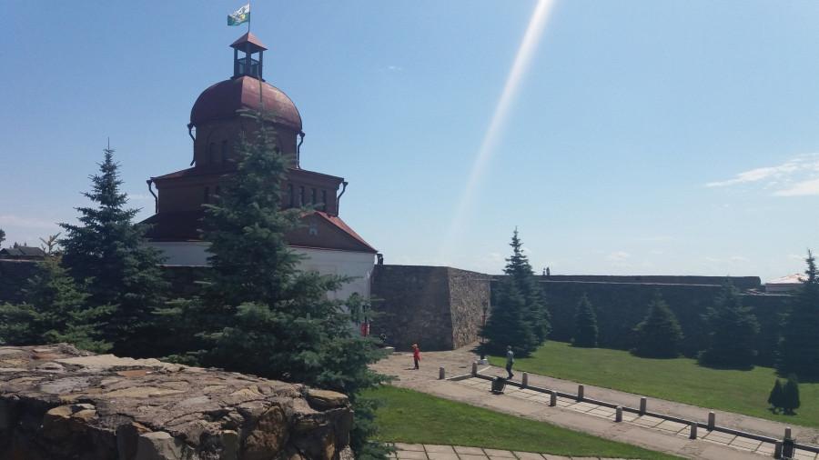 Кузнецкая крепость в Новокузнецке.