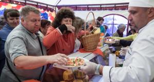 Праздник сыра. Барнаул, 18 августа 2017 года.