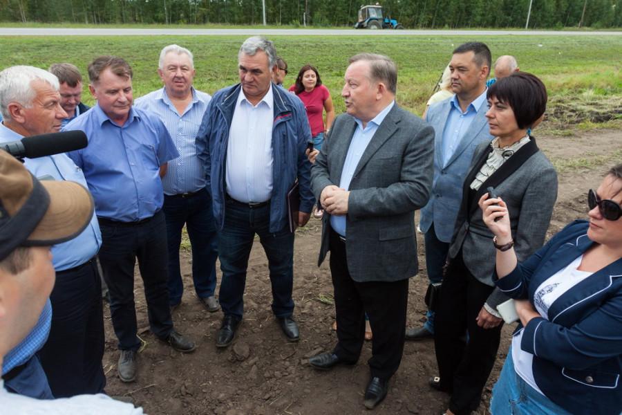 В Алтайском крае началась уборка сахарной свеклы. 18 августа 2017 года