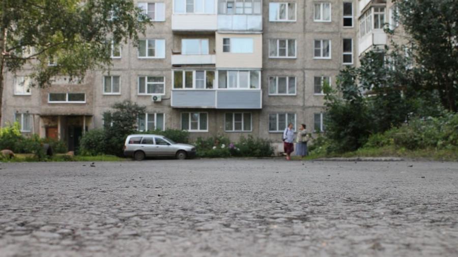 Благоустройство двора в Барнауле