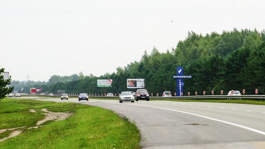 Автомобили в Барнауле. Правобережный тракт. Первомайский район.
