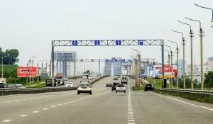 Автомобили в Барнауле. Новый мост.