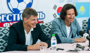 Алексей Смертин и Андрей Аршавин ответили на вопросы журналистов