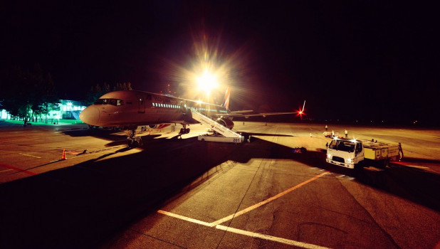 Споттинг в барнаульском аэропорту.