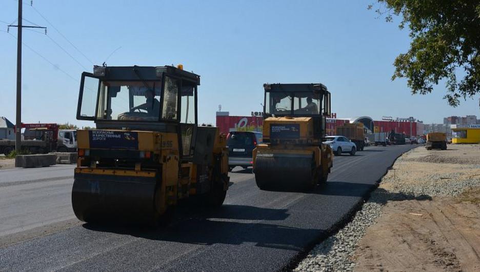 Расширение дороги к третьему малаховскому кольцу.