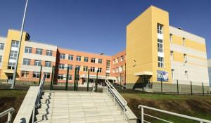 Школа №133 перед открытием.