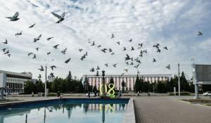 Последний день лета в Барнауле. 31 августа 2017 года.