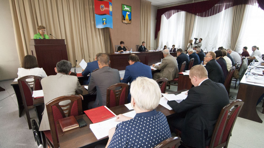 Последняя сессия Барнаульской гордумы VI созыва.