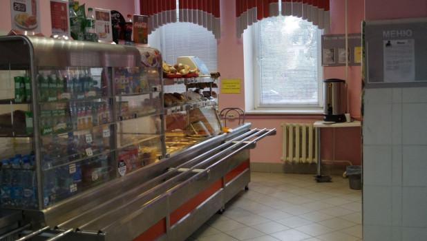 Столовая аграрного университета.