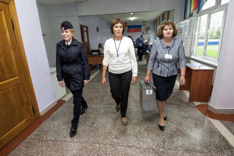 Выборы-2017 в Барнауле.