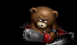 Злой медведь.