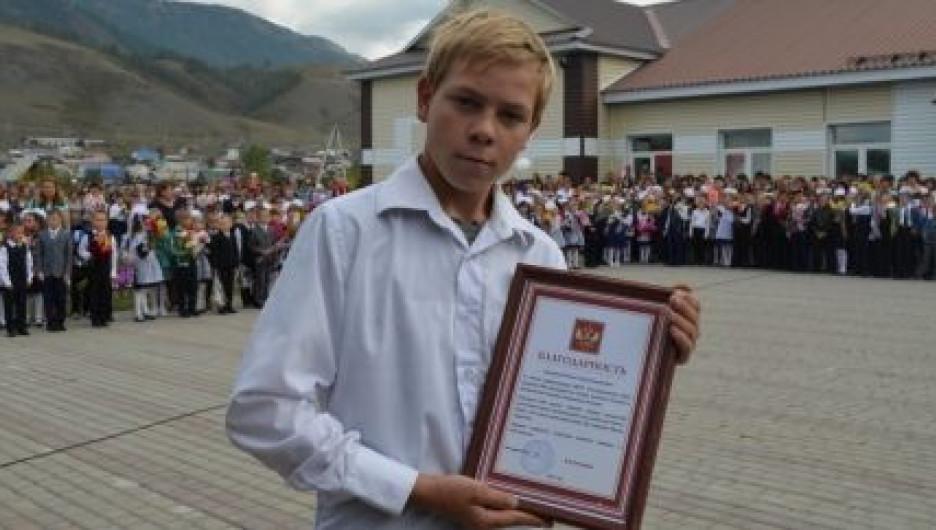 Сергей Рехтин из Усть-Коксы.