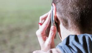 Разговор по телефону.